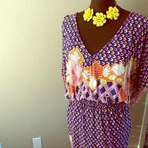 Anna Scholz Boho Dress Size 22